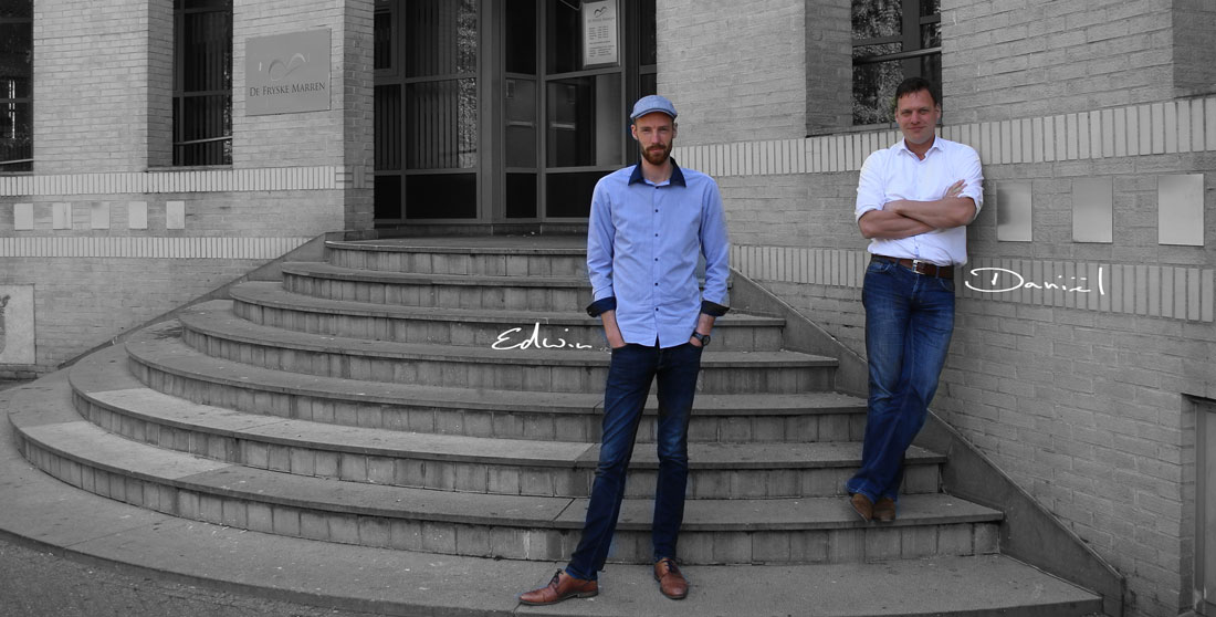 Ons reclamebureau in Sint Nicolaasga: Edwin Schreuder en Daniel van de Kamp