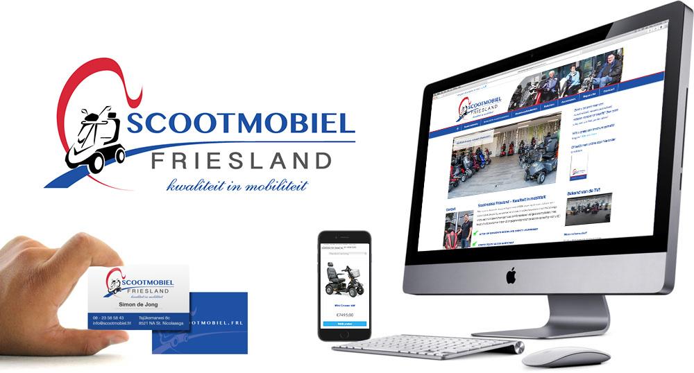 Huisstijl Scootmobiel Friesland
