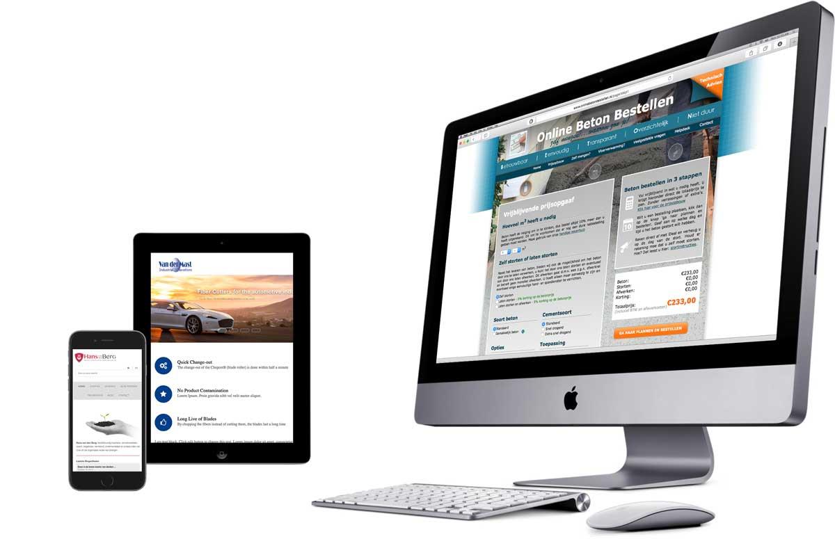 webdesign en bouwen van websites